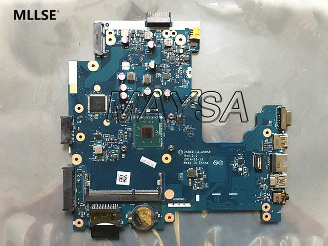 ZS040 LA-A995P FIT FOR HP 240 246 G3 series Laptop Motherboard 775630-501 N2815 Notebook PC Mainboard 100%Tested