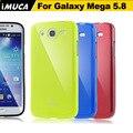 Imuca para samsung galaxy mega 5.8 i9152 9152 tampa do caso tpu silicone telefone de volta cobre para samsung galaxy mega 5.8 casos
