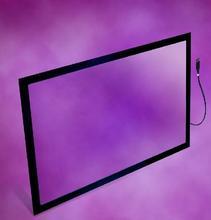 46 дюймов 2 Точек USB ИК Multi Touch Screen Кадр/Пленка для Сенсорного LCD/LED монитор, ПК, сенсорный Настенный, киоски, Игры, POS, АТМ