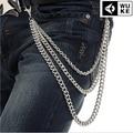 Fashion new Rock Waist Accessories Top Quality Men Hip-hop Street Punk Jean Alloy Plating Pant Chains