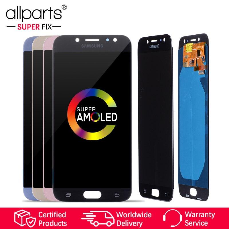 5.5 ''D'origine AMOLED LCD pour SAMSUNG Galaxy J7 Pro Affichage et Tactile J730 J730F OLED Pour SAMSUNG J7 Pro LCD Écran Remplacement