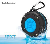HXY 휴대용 방수 무선 샤워 스피커, 흡입 컵, 핸즈프리 아이폰, 아이 패드 아이팟, 삼성 시리즈, 원래 공장