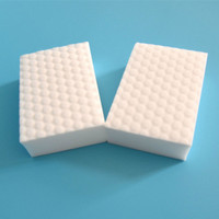 10*6*2 cm High density double compressed kitchen cleaning melamine sponge magic eraser for dish washing/car household 100 pieces