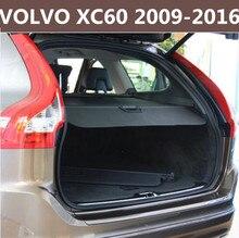 Автомобиль задний багажник защитный лист для багажника Экран щит оттенок Cover, пригодный для VOLVO XC60 2009 2010 2011 2012 2013 2014 2015 2016