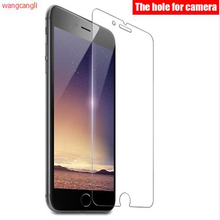 0.3mm Super Thin Tempered Glass for iPhone 6 6S Transparent Screen Protector for iPhone 4 4s 5 5s SE 6 Plus with Clean Tools milo third generation ultra thin 0 2mm tempered glass screen protector for iphone 4 4s
