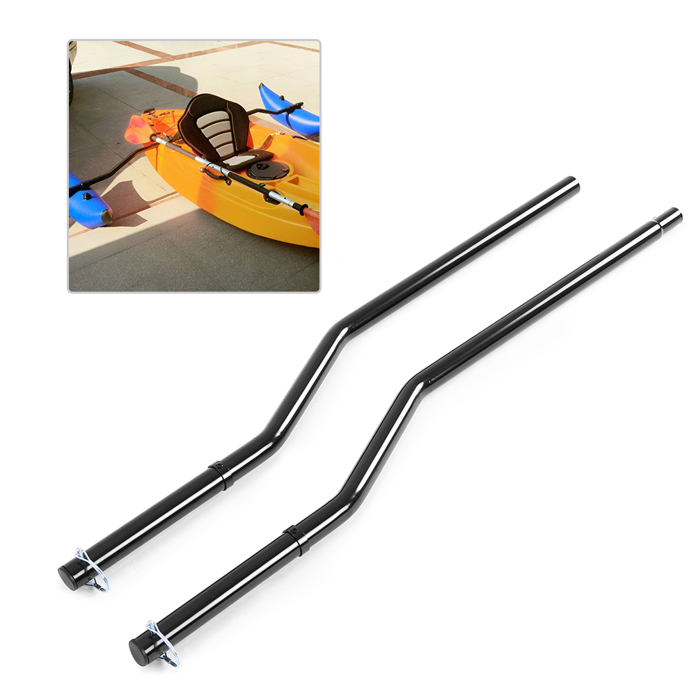1 Pair Canoe Kayak Outrigger Sidekick Arms Inflatable Rowing Boat Stabilizing System Replacement Rack Mount Kayak