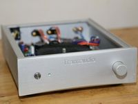 GZLOZONE Hifi Stereo Power Amplifier Base On Sugden A25B Amp Circuit 80W+80W 8ohm L16 17