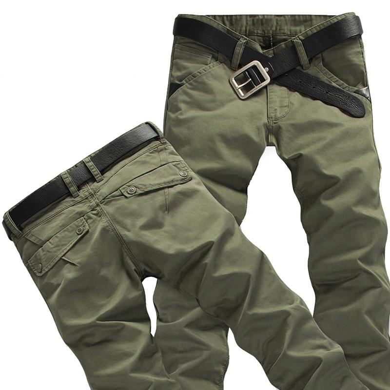 d6bd7e77061b9c Hot Sale 2018 New Tactical Cargo Pants Men s Casual Cotton Trousers ...