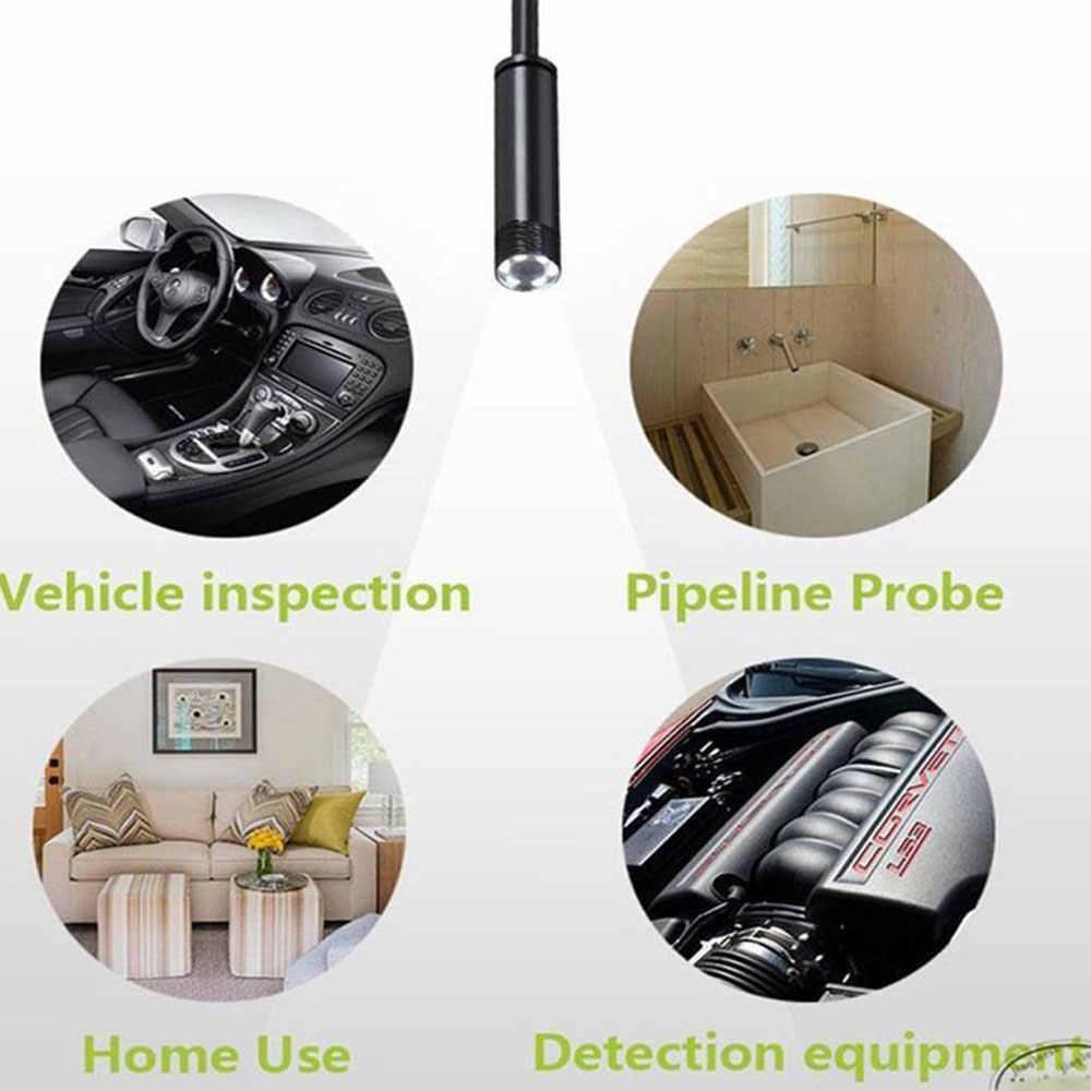 Wifi эндоскоп камера HD 1-10 м Мини водонепроницаемый мягкий провод беспроводной 8 мм 8 светодиодный бороскоп камера для Android для ПК ios эндоскоп IP67