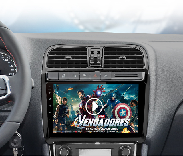 Multimedia Player GPS Navigation For Volkswagen POLO