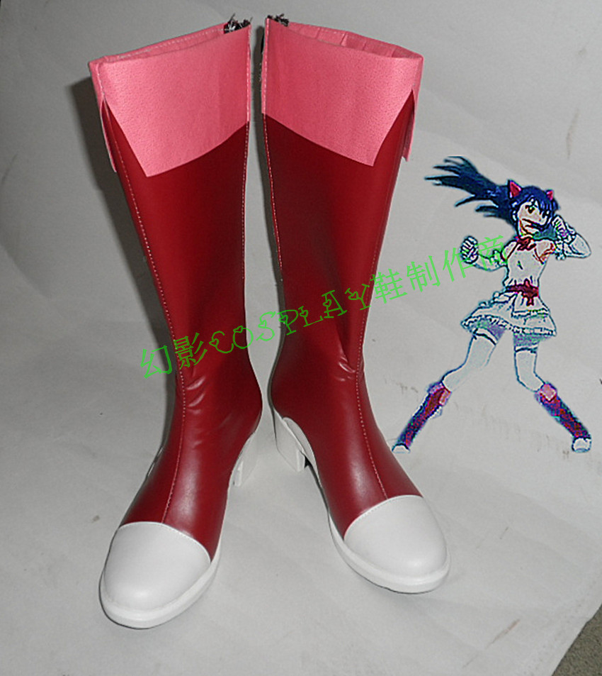 Fairy Tail Wendy Marvell   cosplay Boots Shoes Custom Made