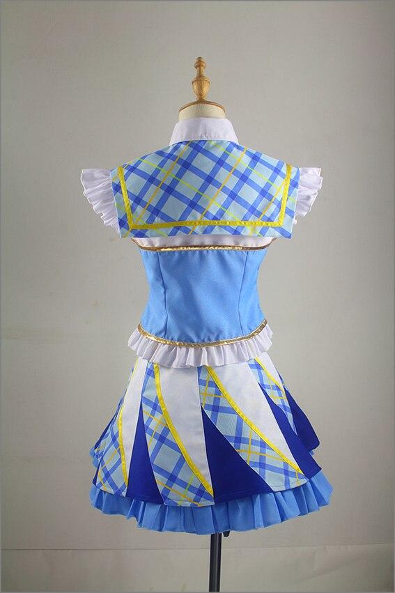 Anime Aikatsu Stars Kiriya Aoi Cosplay Costume Custom Made Any Size