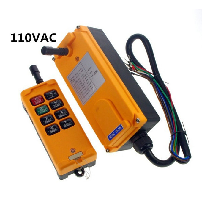 все цены на HS-8 AC110V 8 Channels Hoist Crane Radio Remote Control System онлайн