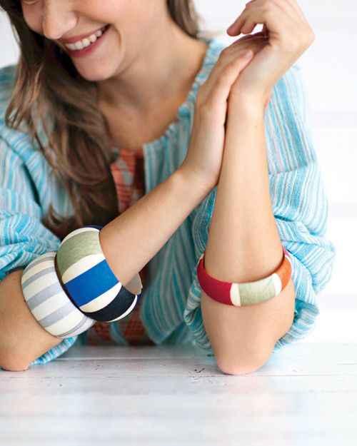 SANSHOOR, brazaletes finos de madera sin terminar de 1,6 cm de ancho, anillos de pulsera para mujer, pintura, joyería, manualidades para Artes y chicas, Diy, 6 uds.