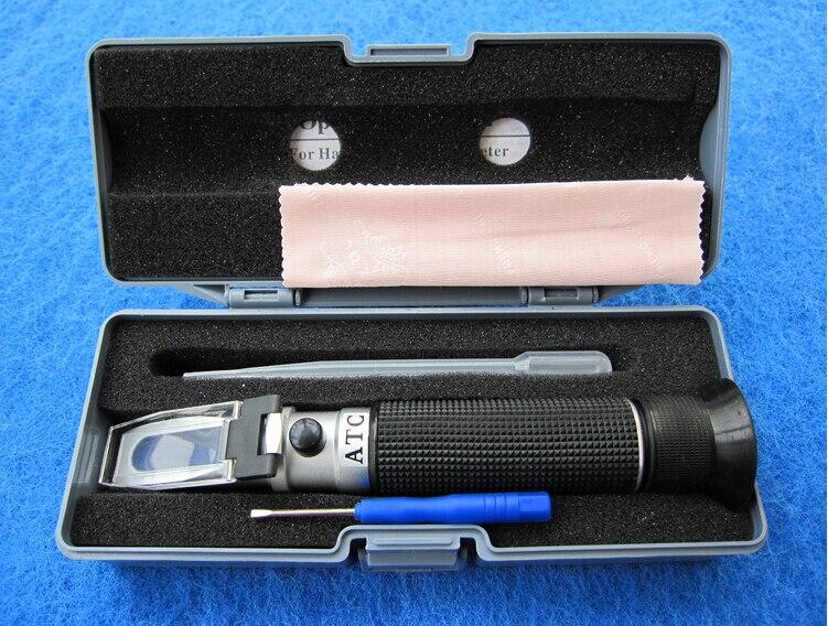 ФОТО Handheld brix Honey Refractometer brix 0~15%