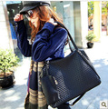 European and American Fashion Women Handbags 2016 New Style Vintage Handbag  Lingge Shoulder Bag Female Women Big Capacity Bag