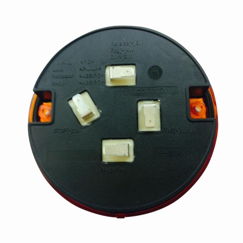 Emark 140mm 20LED Trailer Truk Berhenti Lampu Ekor Amber Kiri Kanan - Lampu mobil - Foto 5