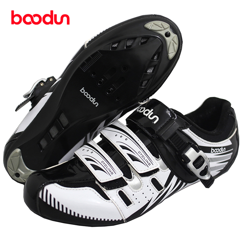 BOODUN Breathable Road Bike Shoes Cycling Shoes Men Sapatilha Ciclismo Triathlon Buy Shoes Get Free Winter Gloves Bicycle Shoes racmmer cycling gloves guantes ciclismo non slip breathable mens