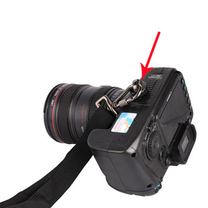 """Image 5 - Kaliou DSLR Camera 1/4"""" Screw Connecting Adapter For Shoulder Strap Sling Neck Strap Belt Camera Bag Case Canon Nikon Sony"""