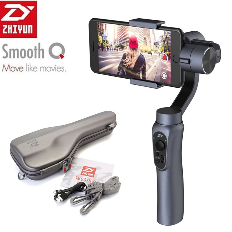 Zhiyun Smooth Q Gimbal Stabilizer for Smartphone For Gopro 5 4 3 SJCAM