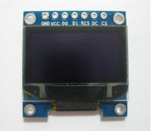 100PCS LOT free shipping 2.8-3.3V yellow and blue color 0.96 inch oled display