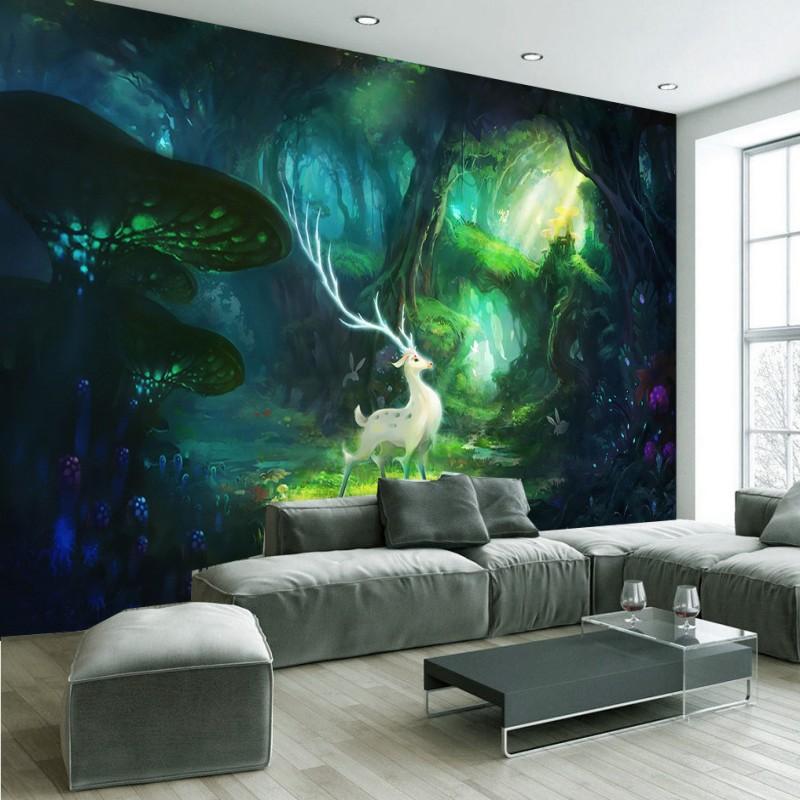 online get cheap mural forest traum -aliexpress.com | alibaba group - Traum Wohnzimmer Modern