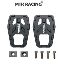 MTKRACING CNC motorcycle accessories billet foot wide pedal pedal rest pedal for BMW F700GS F 700GS f700gs All Year