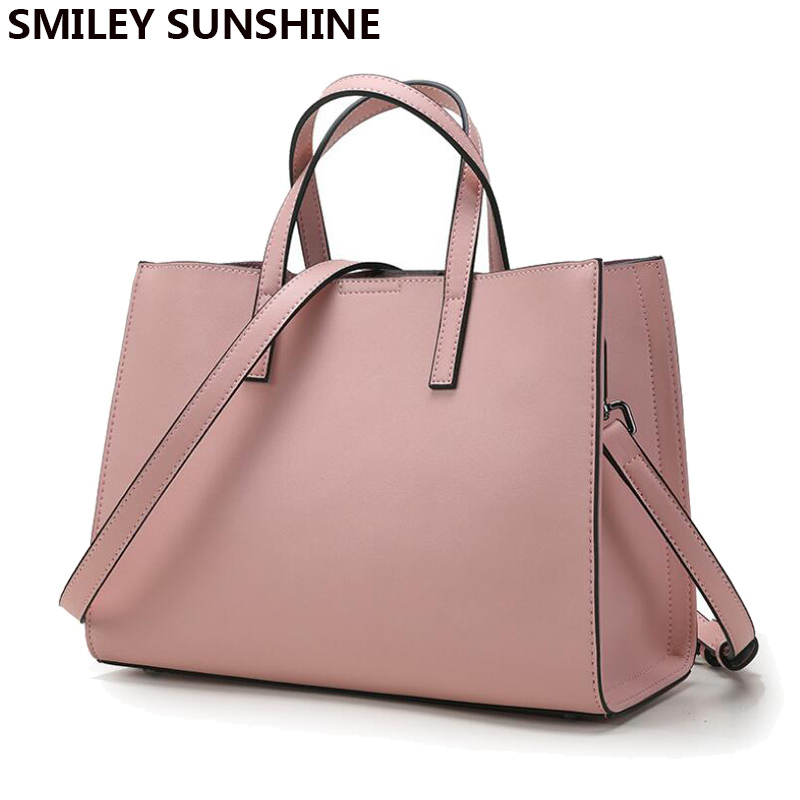 SMILEY SUNSHINE brand genuine leather women bags designer handbags high quality brand female shoulder bags big pink ladies tote smiley sunshine brand serpentine leather women handbags hobo tote bag female snake tassel big shoulder bags ladies crossobdy bag