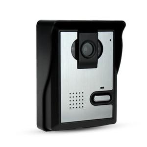 Image 4 - 무료 배송 비디오 도어 인터콤 시스템 비디오 도어 벨 야외 카메라 cmos ir 야간 투시경 홈/아파트