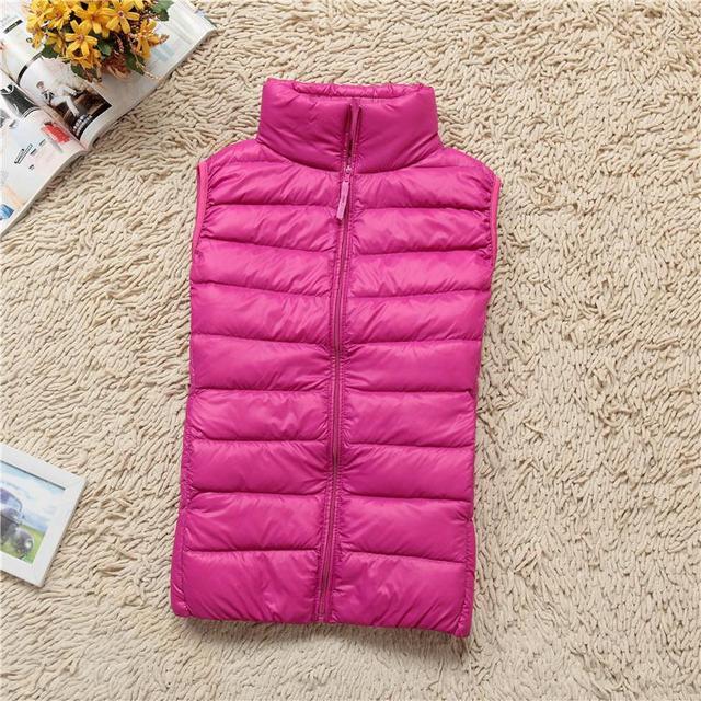Короткая приталенный жилет 3XL воротник-стойка корейский куртка женщины одежда ультра-дешевый тонкий большой ярдов Chaleco конфеты цвет жилет