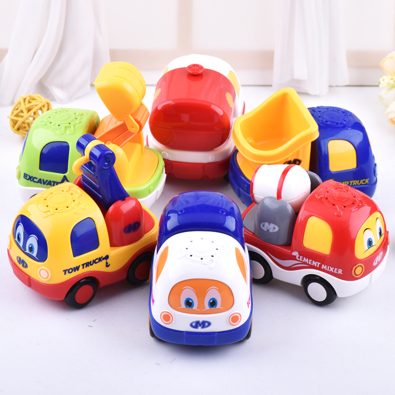 2017 Latest Baby Toys Sound And Light Music Inertia Toy Car