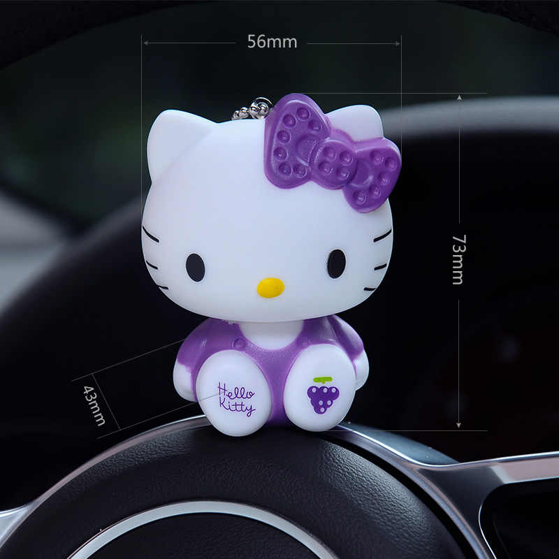 71b9bf600 ... Hello Kitty Keychain Fur Pom Pom Keychains Bag Car Key Ring Fluffy  Pompons Key Chain Ring ...