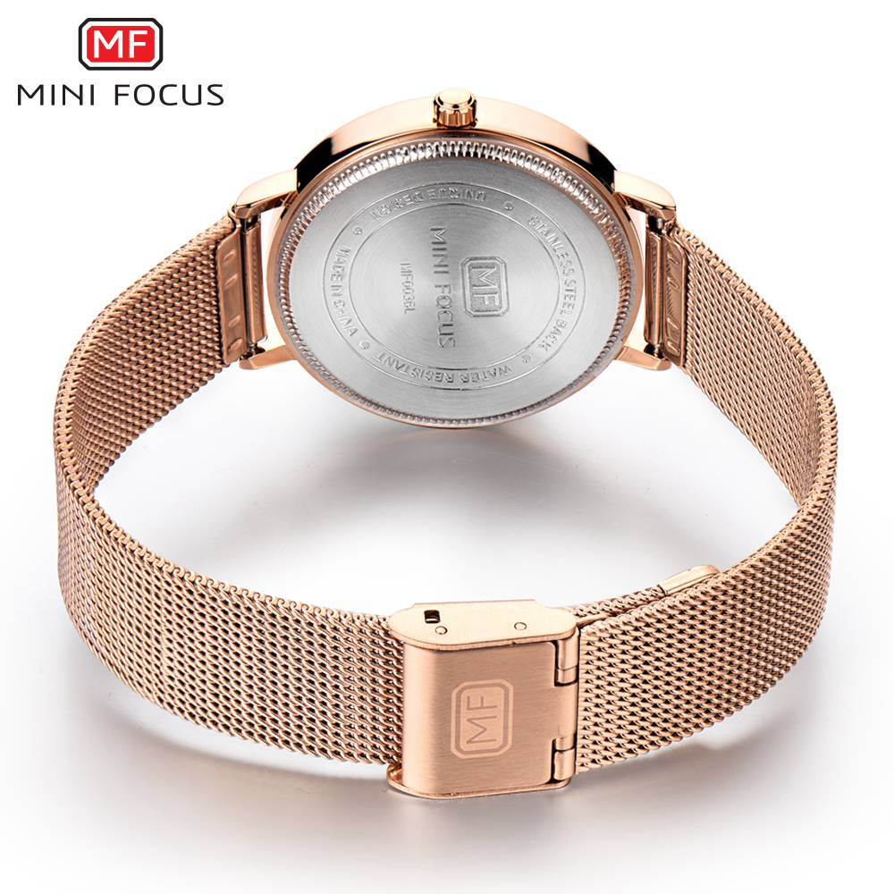 ca8a7263c4f MINI FOCO Novo 2018 Vestido Top Fashion Mulheres Relógios Famosa Marca  Senhoras Relógio de Quartzo Relógio Feminino Montre Femme Relogio feminino  em ...