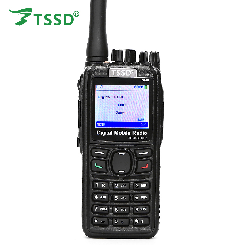 New Arrival High Quality UHF 400-480MHZ Voice Scrambler 5W Digital DMR Walkie Talkie TS-D8800R