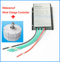 400W 24V wind turbines generator system 3 phase AC 600r/m Rated rotated speed max power 450W matched with 24V controller