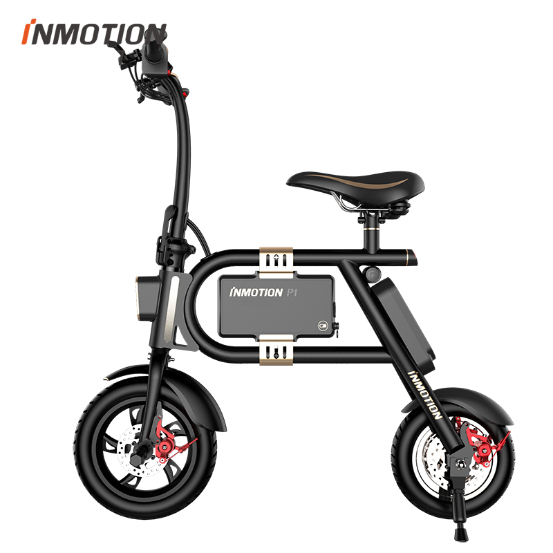 inmotion p1 portable smart electric bicycle folding. Black Bedroom Furniture Sets. Home Design Ideas
