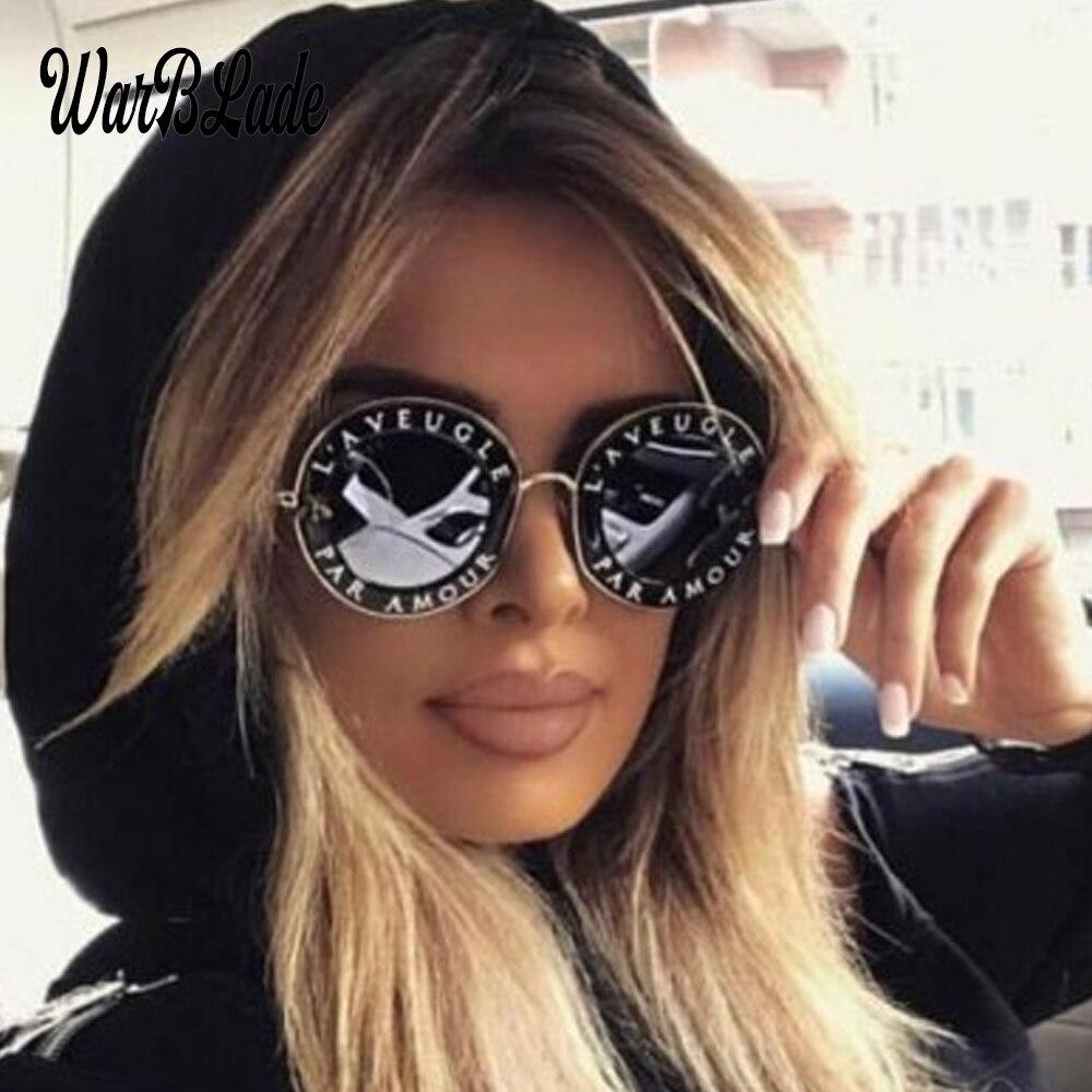 Мужские и женские солнцезащитные очки, круглые черные солнцезащитные очки в стиле ретро с английскими буквами и маленькой Пчелкой, 2020