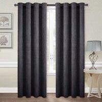 NICETOWN New Arrival Grommet Velvet Blackout Room Darkening Curtains /Drapes for Livingroom, Single Panel