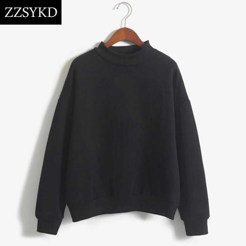 20ba2b24 Для женщин с длинным рукавом белый черный дамы толстовки пуловер Кофты  женский джемпер пальто капюшоном костюмы