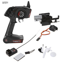 For WPL B1 B24 B16 C24 1/16 4WD 6WD Rc Car 3CH Radio Transmitter And Speed Change Gear Box Super Active Throttle Limit Range