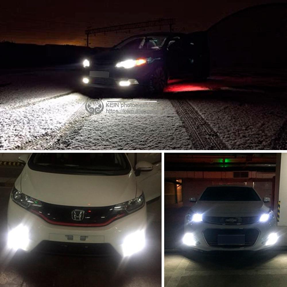 Kein 2pcs H1 H3 Led Fog Light 10smd Drl Led Car Light 5630 5730 Daytime Running Vehicle External Lamp Bulb Day Driving 12v 6000k Automobiles & Motorcycles
