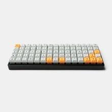 Idobo 75 клавиш Ortholinear макет QMK анодированный алюминий чехол пластина горячей замены Тип C печатная плата механическая клавиатура комплект