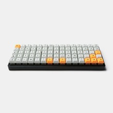 Idobo 75 Tasten Ortholinear Layout QMK Eloxiertem Aluminium Fall Platte hot swap Hot Swap Typ C PCB Mechanische Tastatur kit