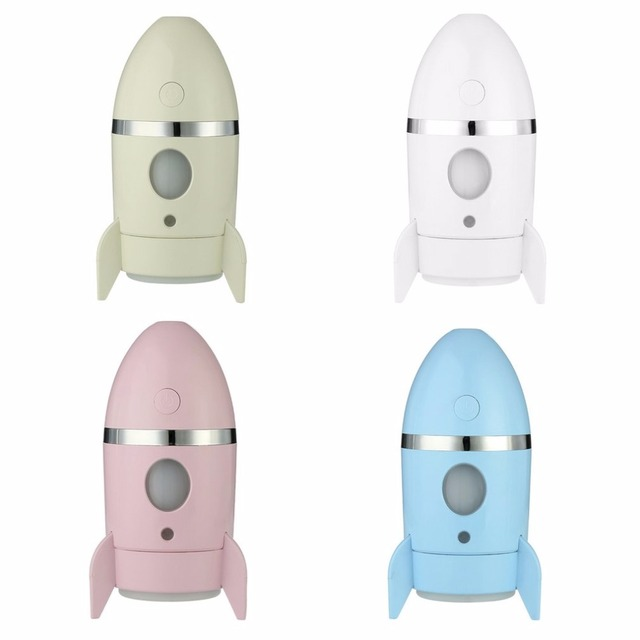 Fashion Rocket Shaped Mini Air Humidifier Usb Power Supply Mist