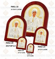 19*15cm Hot seller wood art Orthodox icons of