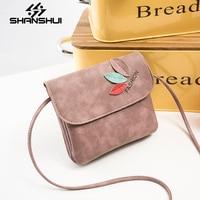 Fashion Casual Scrub Shoulder Bag New 2017 Man Made Leather Mini Valve Bag Ladies Bag Handbag