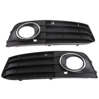 Hot Sale New High Quality 2pcs Car Front Bumper Lower Side Fog Light Grille For Audi