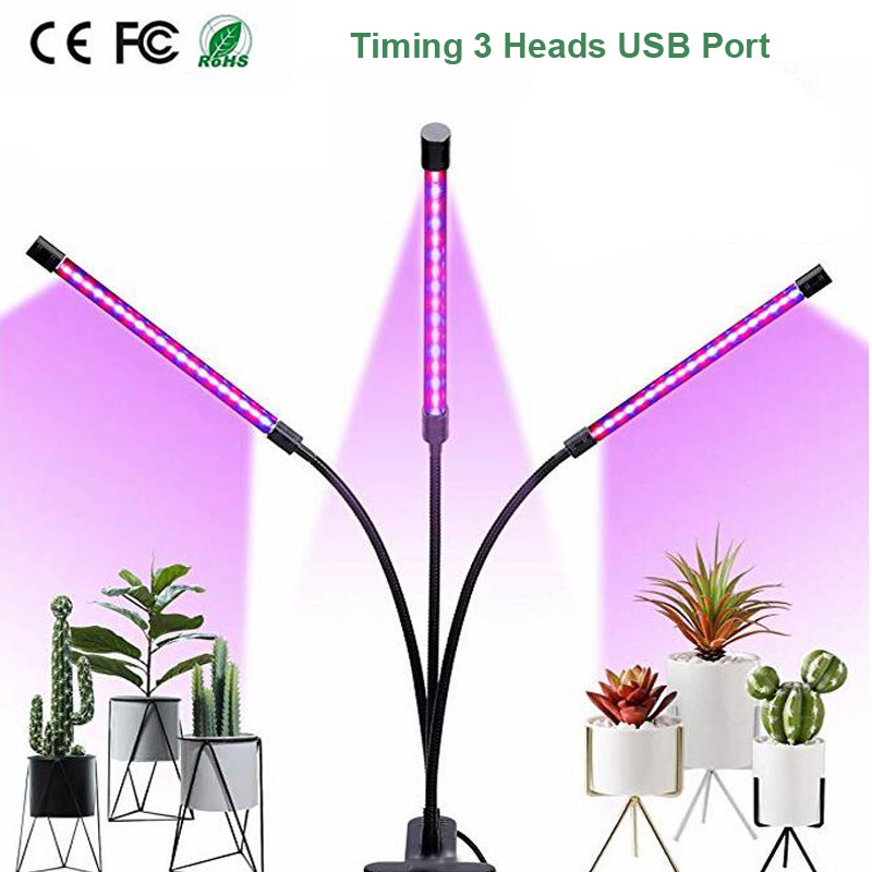 LED Grow Light 5V USB Fitolampy LED Full Spectrum Phyto Lamp Phyto-Lamp For Indoor Vegetable Flower Plant Tent Box Fitolamp