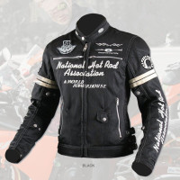 Uglybros Women's Embroidered Motorcycle Jacket Spring / Summer Breathable Racing Jacket Outdoor Ride