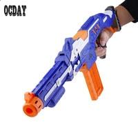 Electric Toy Soft Foam Bullet Gun Shooting Submachine Gun Sniper Rifle Weapon Toy Gun Set Funny Outdoors Toys For Children Hot